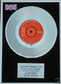 "ARCHIES-7""Platinum Disc SUGAR SUGAR (number 1 in chart)"
